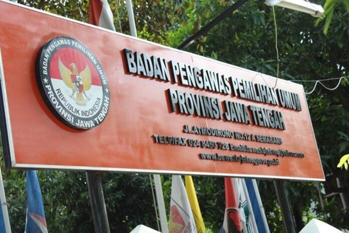 Papan Nama Bawaslu Jateng