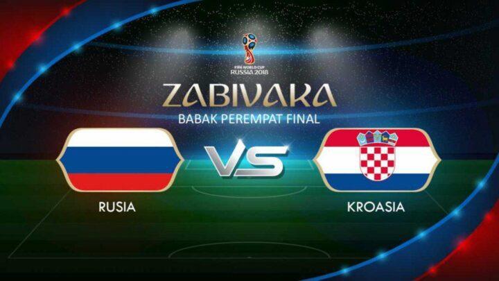 Babak Perempat Final Piala Dunia 2018 Rusia Vs Kroasia