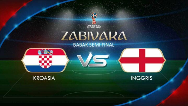 Babak Semi Final Piala Dunia 2018 Inggris Vs Kroasia