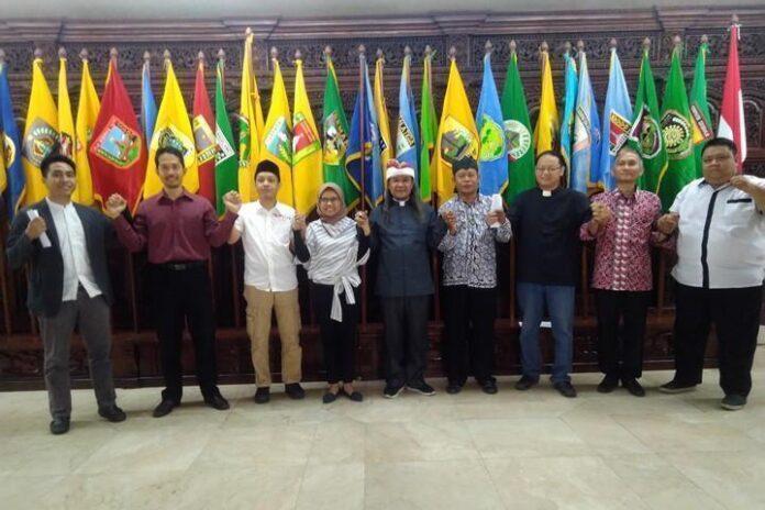 Sejumlah tokoh agama yang tergabung dalam Pelita menyatakan sikap atas kondisi bangsa sekarang ini, Selasa (1/10).