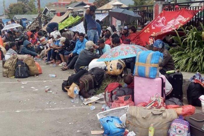 Pengungsi Wamena (Photo: Antara)