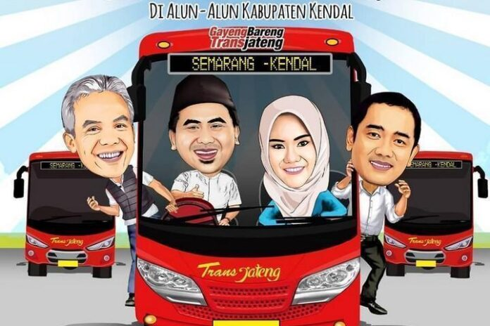 BRT Trans Jateng Koridor Semarang-Kendal