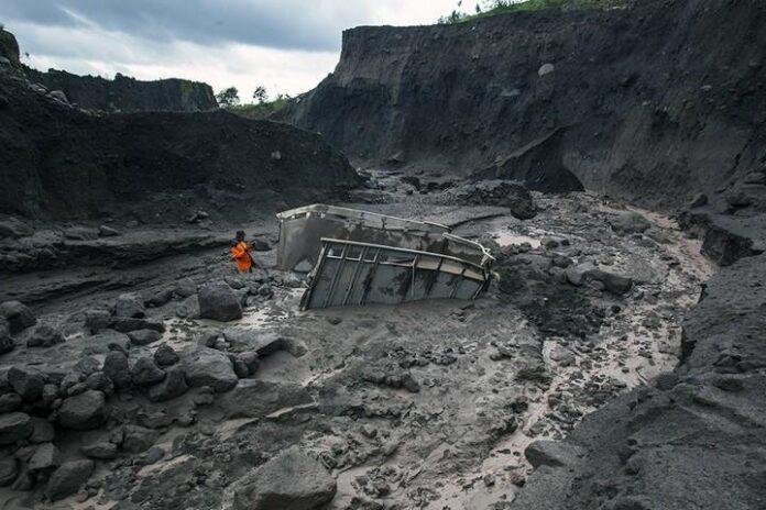 Banjir Lahar di Sungai Gendol pada 2014