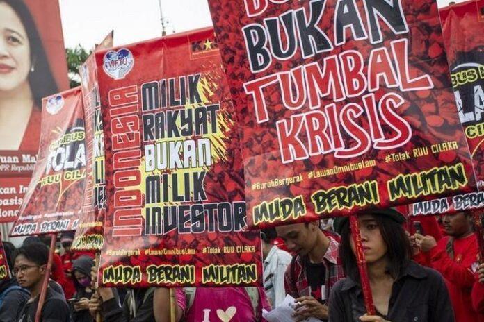 Demo Menolak RUU Cilaka