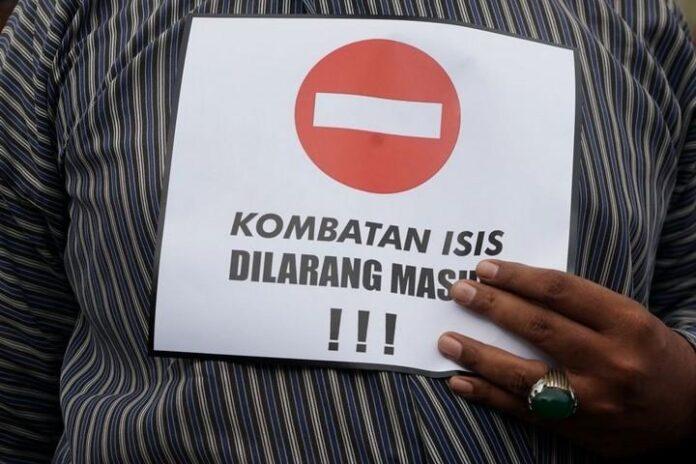 Eks Tentara ISIS Dilarang Masuk