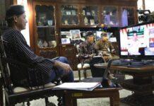 Video conference Ganjar dgn Jokowi