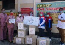 Bantuan APD ke RS William Booth Semarang