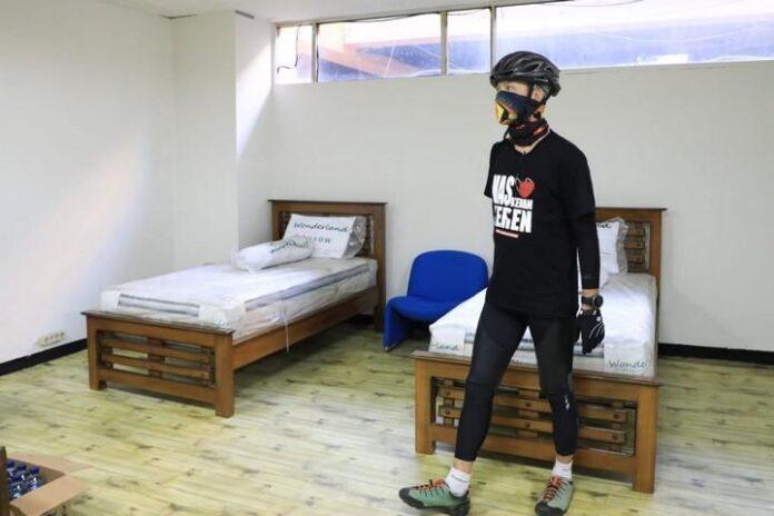 Pengecekan tempat karantina eks STIE Bank Jateng