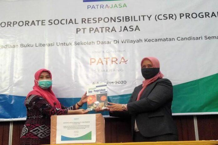 Bantuan Buku Patra Semarang Hotel