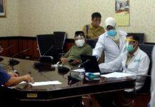 Rapid Test di gedung DPRD Jateng