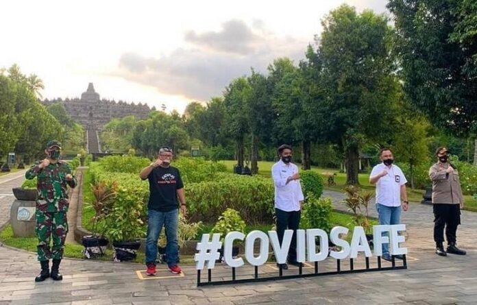 Izin operasi Candi Borobudur di masa pandemi