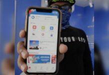 Aplikasi pembayaran nontunai di SPBU