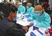 Rapid Test kepada pelanggar protokol kesehatan