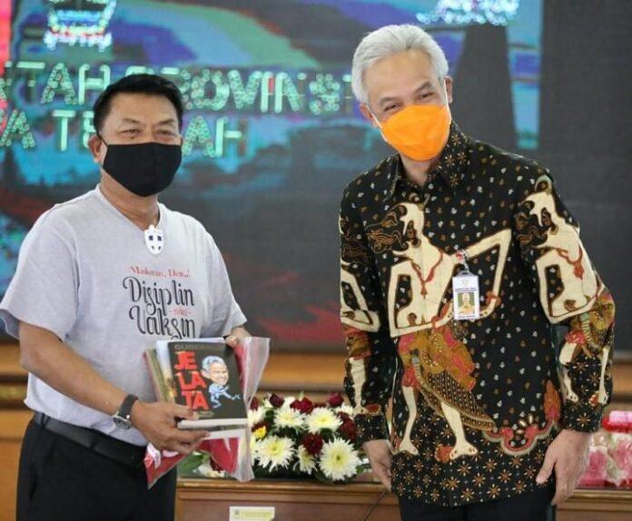 KSP Moeldoko menemui Gubernur Ganjar