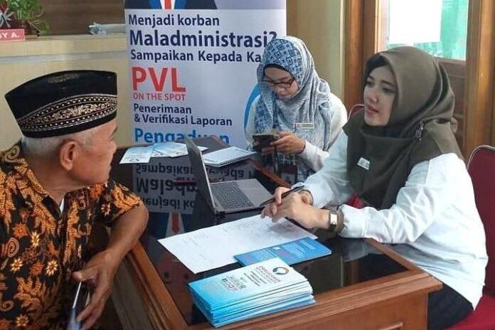 Ombudsman menerima pengaduan warga