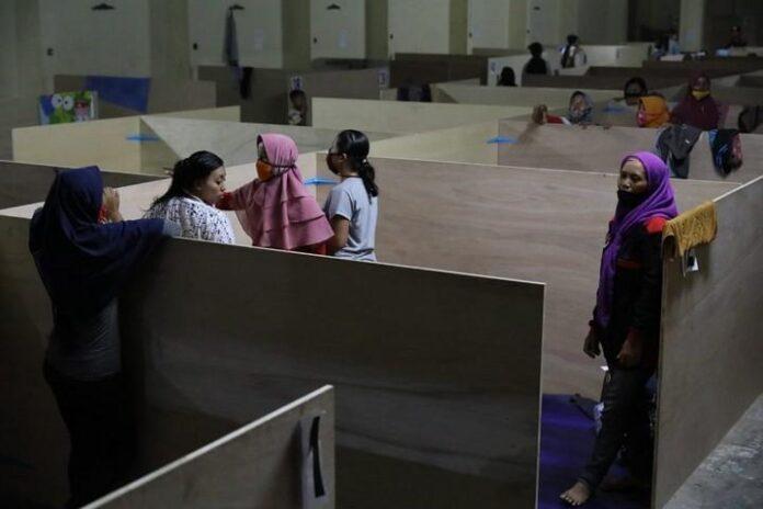 Posko pengungsian di Kabupaten Magelang
