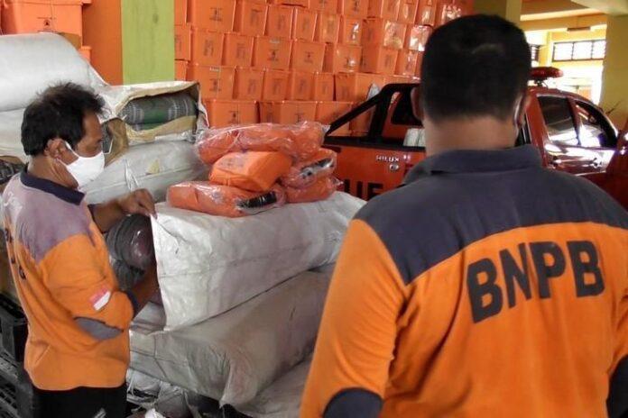 Bantuan logistik ke Klaten dan Boyolali