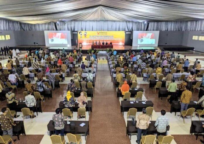 Pelantikan dan pembekalan Pengawas TPS Kecamatan Mijen