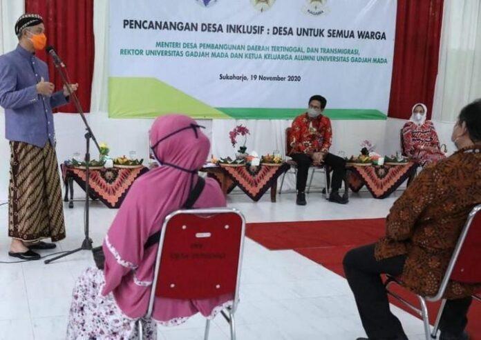 Menteri Desa PDTT Abdul Halim Iskandar