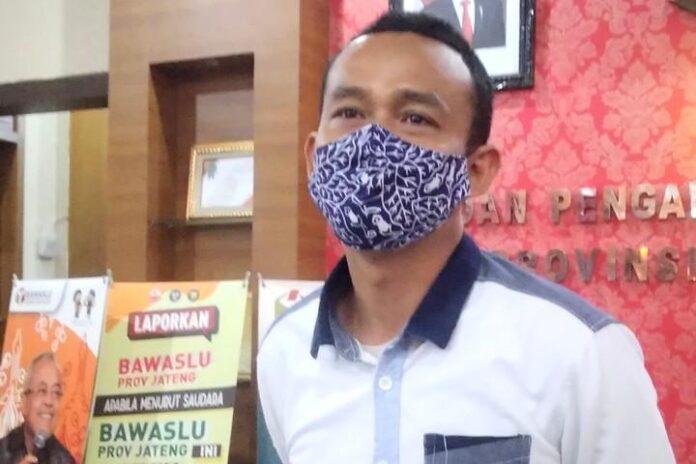 Rofiudin, Komisioner Bawaslu Jateng.