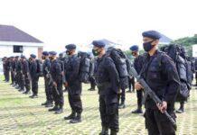 Personel Brimob Polda Jateng