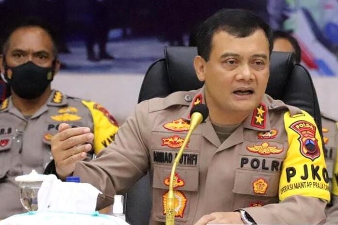 Irjen Pol Ahmad Luthfi, Kapolda Jateng.