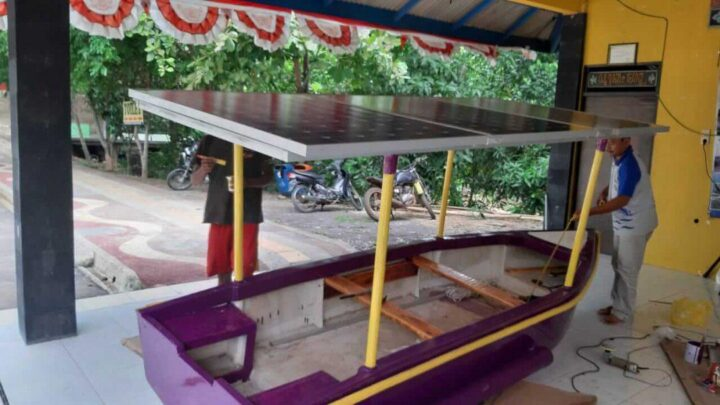 Perahu karya empat dosen Unika Soegijapranata Semarang