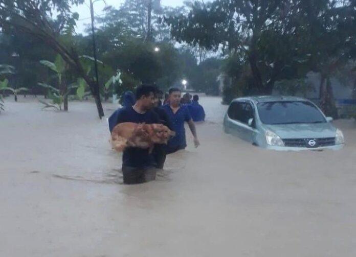 Banjir kawasan Meteseh Kota Semarang
