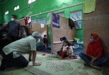 Pengungsi Merapi di Desa Balerante