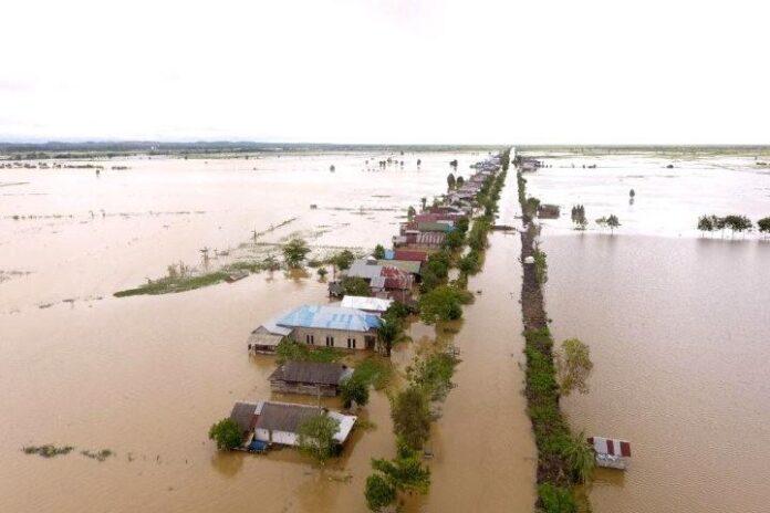 Banjir Kalsel (Photo: ANTARA)
