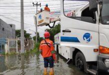 PLN UID Jateng-DIY berupaya memulihkan aliran listrik