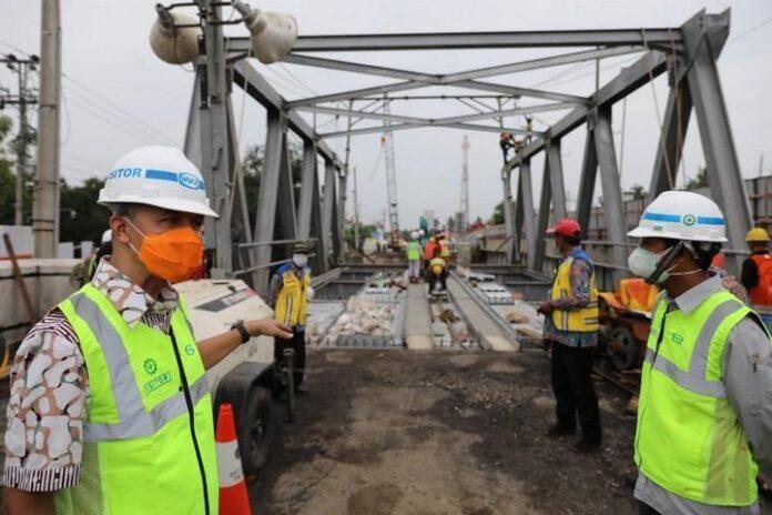 Jembatan Rembun di batas Kabupaten Pekalongan dengan Pemalang
