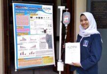 Aisyah Afnan, Siswi SMAN 5 Semarang