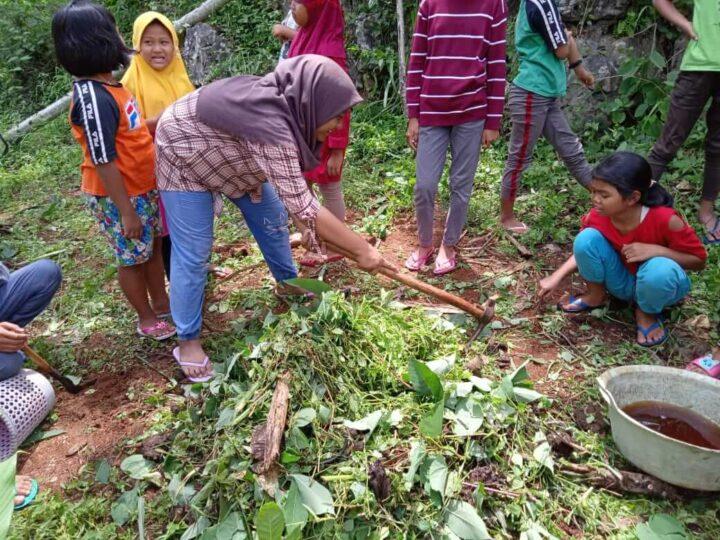 Kegiatan belajar Sekolah Pagesangan Gunung Kidul 4