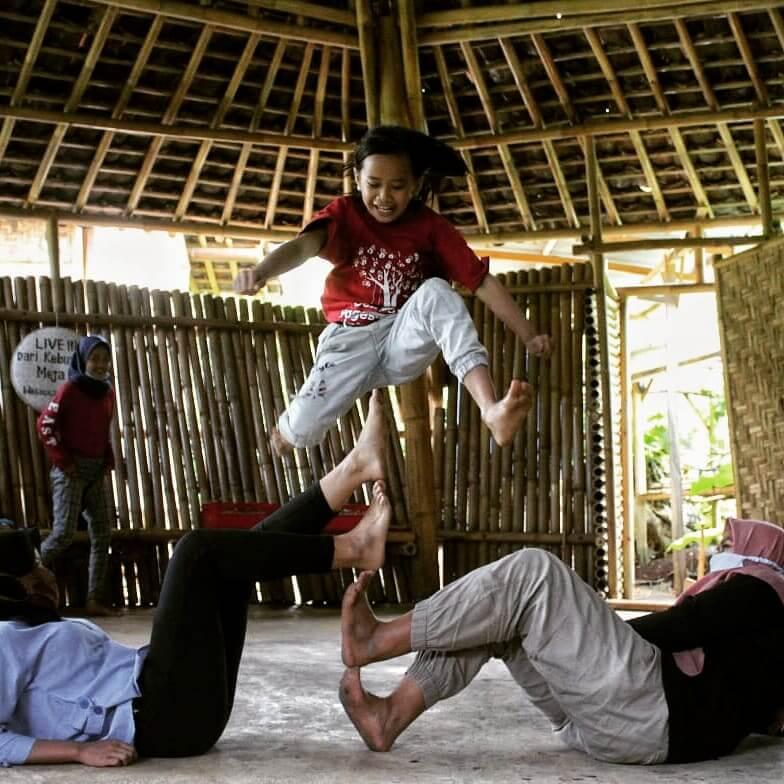 Kegiatan belajar Sekolah Pagesangan Gunung Kidul 5