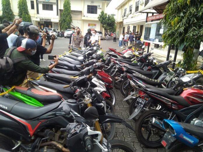 Sepeda motor milik pejudi
