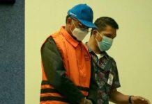 Nurdin Abdullah saat ditangkap KPK