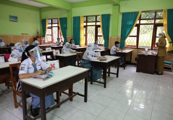 PTM di SMAN 4 Semarang