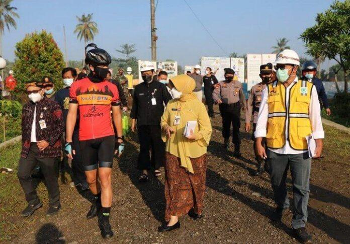 Progres penataan kawasan Borobudur