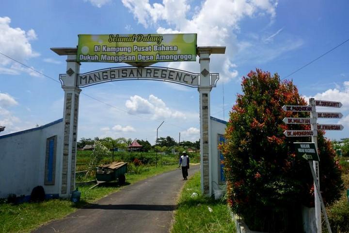 Kampung Pusat Bahasa Dukuh Manggisan