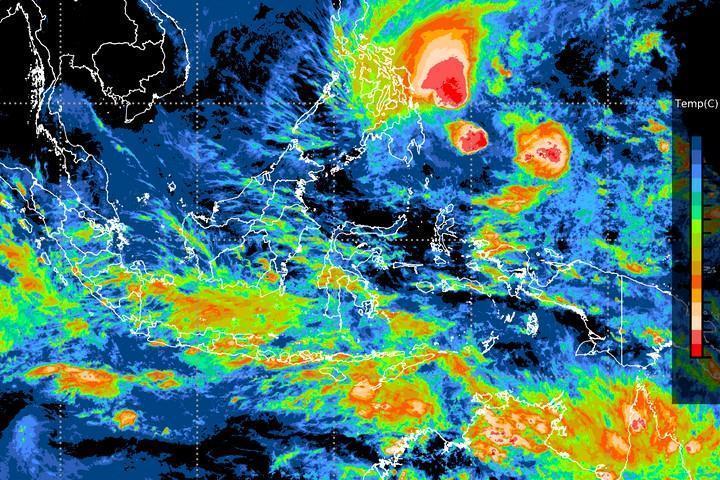 Ilustrasi Cuaca Ekstrem BMKG