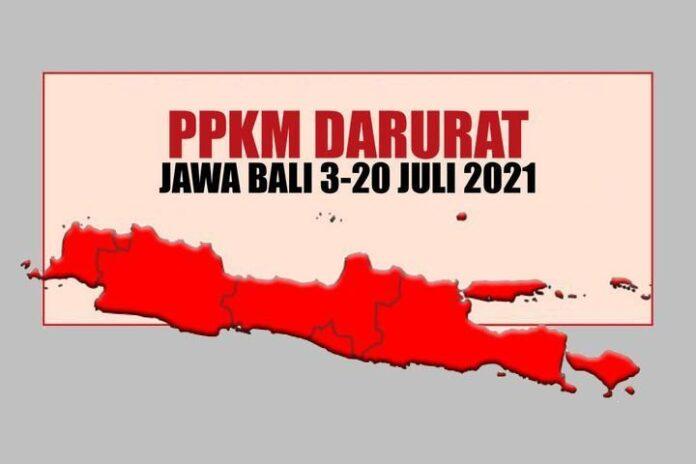 PPKM Darurat Jawa Bali