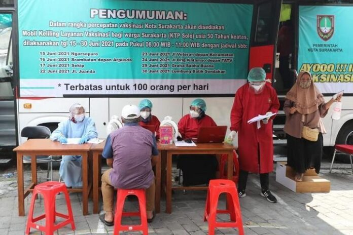 Pelayanan vaksinasi