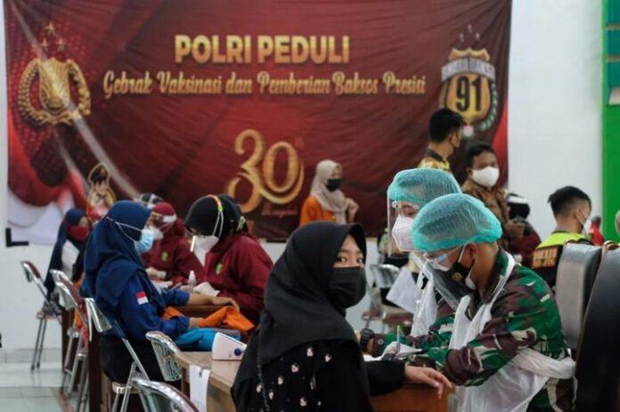 Vaksinasi Polda