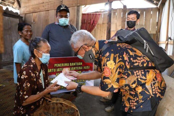 Penerima KJS di Desa Mluweh