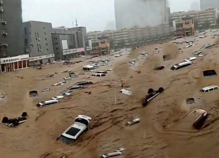 Banjir China 2021