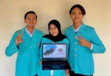 Tiga Mahasiswa UNS Surakarta