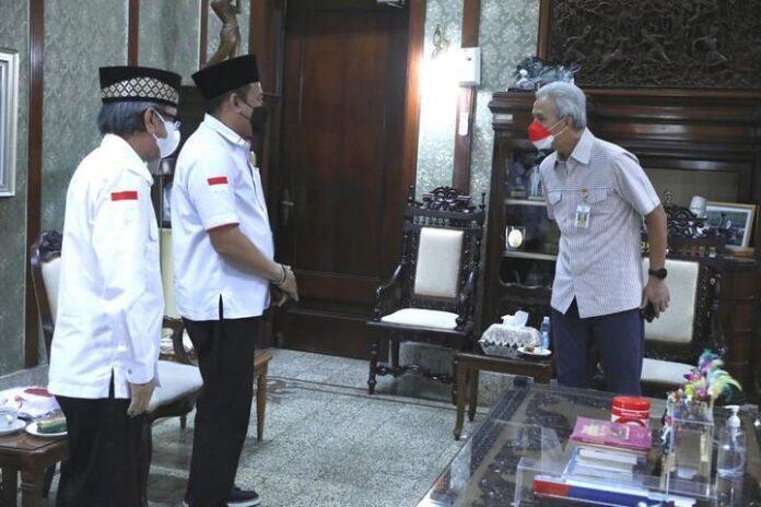 Kunjungan pengurus Indonesiapersada