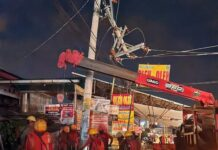 Penanganan tiang dan jaringan listrik
