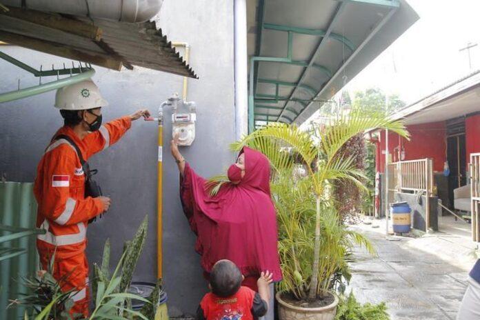 Pencatatan meter secara mandiri